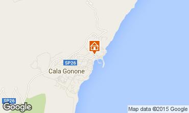Map Cala Gonone Apartment 80250