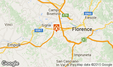 Map Florence Apartment 14820