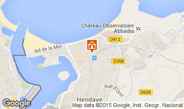 Map Hendaye House 9352