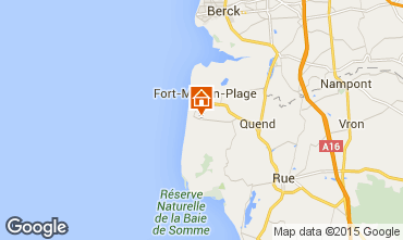Map Quend Plage Mobile home 52661