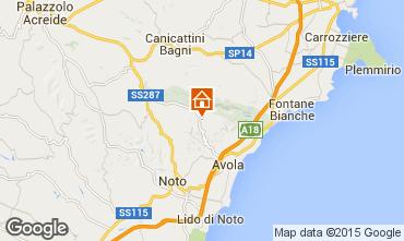 Map Avola Villa 64759