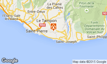 Map Saint Pierre (R�union) Villa 62675
