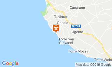 Map Ugento - Torre San Giovanni Apartment 105315