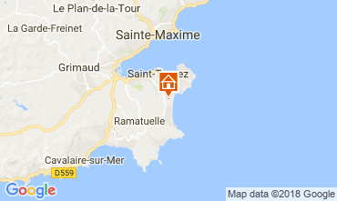 Map Saint Tropez Mobile home 30322