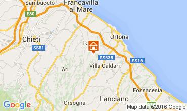 Map Ortona Villa 84580