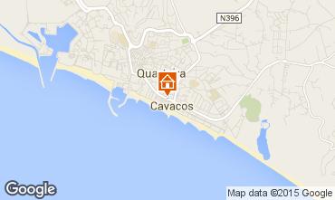 Map Quarteira Apartment 61336