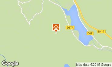 Map Gérardmer Self-catering property 99393