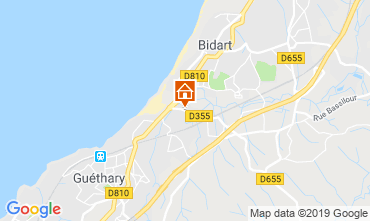 Map Bidart Apartment 113529