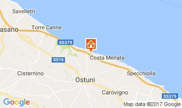 Map Ostuni Villa 110107