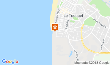 Map Le Touquet Apartment 81592