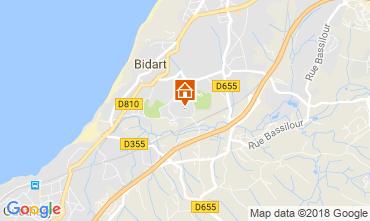 Map Bidart Apartment 115679