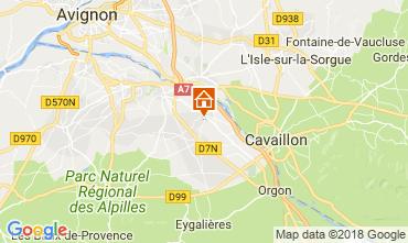 Map Saint Rémy de Provence Self-catering property 113890