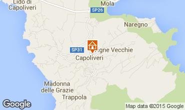 Map Capoliveri Apartment 74185