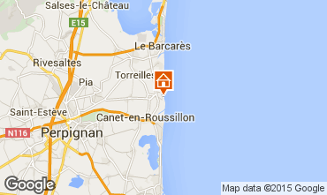 Map Sainte Marie la Mer Villa 78588
