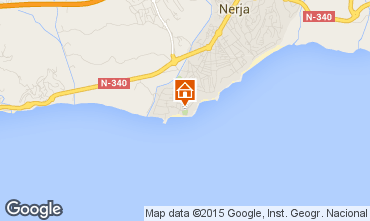 Map Nerja Apartment 11482