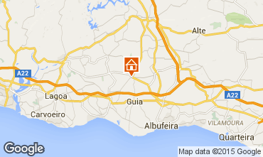 Map Albufeira Villa 60549
