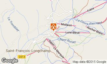 Map Saint François Longchamp Apartment 66174