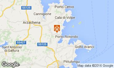 Map Porto Rotondo Villa 103093