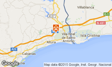praia verde mapa Vila Real De Santo Antonio holiday rentals praia verde mapa
