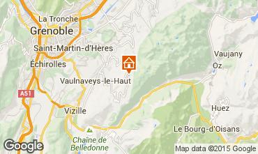Map Chamrousse Apartment 91742