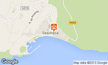 Map Sesimbra Apartment 52585