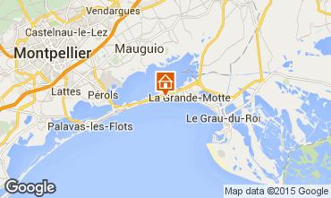 Map La Grande Motte Villa 75574