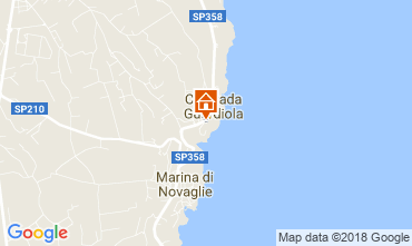 Map Corsano Apartment 115714
