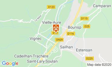 Map Saint Lary Soulan Apartment 4397