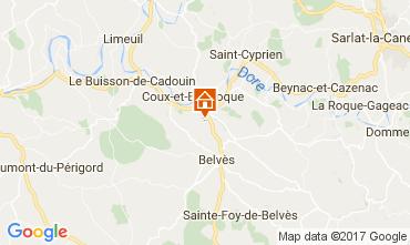 Map Siorac-en-Perigord House 108951