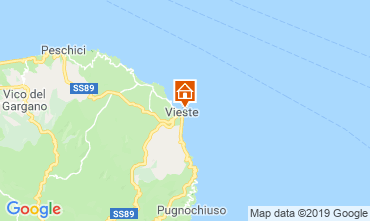 Map Vieste Apartment 118331