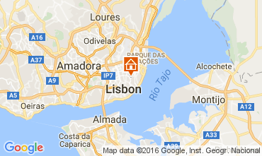 Map Lisbon Apartment 106641