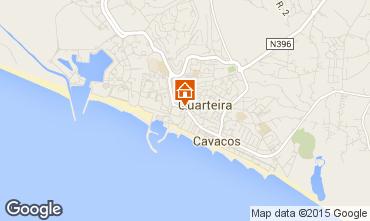 Map Quarteira Apartment 75911