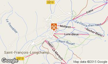 Map Saint François Longchamp Apartment 2537