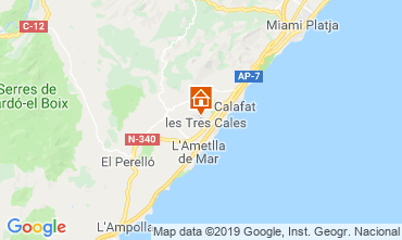 Map La Ametlla de Mar Villa 118601