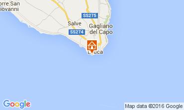 Map Santa Maria di Leuca Apartment 104223