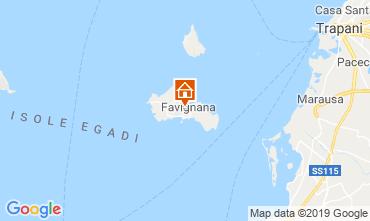 Map Favignana Apartment 118659