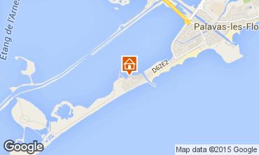 Map Palavas-les-Flots Mobile home 96103