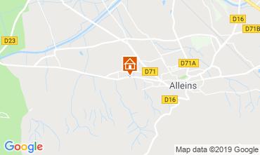 Map Alleins House 114019