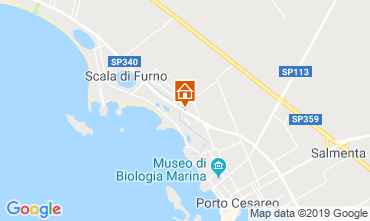 Map Porto Cesareo Apartment 118084