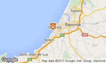Map Biarritz Flat 61240