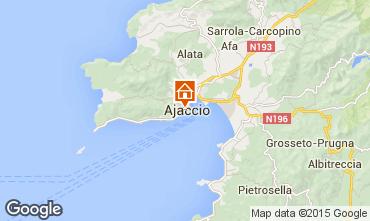 Map Ajaccio Studio apartment 75768