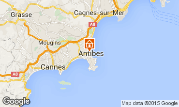 Map Antibes Mobile home 5443