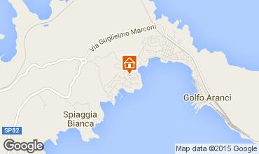 Map Aranci Gulf Villa 45862
