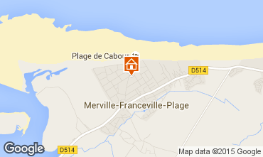 Map Cabourg Apartment 62026