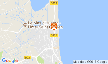 Map Saint Cyprien Apartment 112518