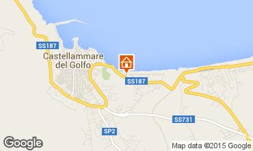 Map Castellammare del Golfo Apartment 48591