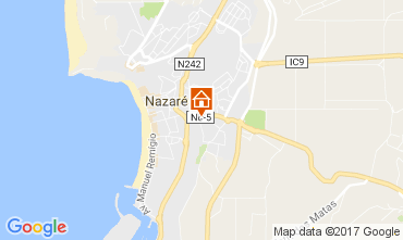 Map Nazaré Apartment 108783