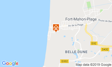 Map Fort Mahon Apartment 117782
