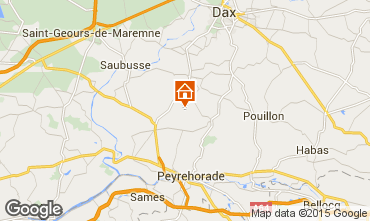 Map Dax Self-catering property 12043