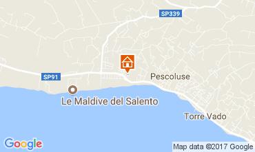 Map Pescoluse Apartment 110707